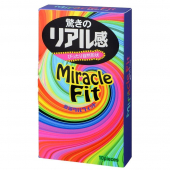 Презервативы Sagami Xtreme Miracle Fit - 10 шт.